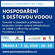 Debata s odborníky na téma HDV, Praha 7.11.2019