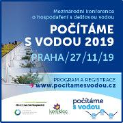 Počítáme s vodou - Revitalizace veřejných prostor se zapojením modro-zelené infrastruktury, Praha 27.11.2019